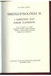 Erkölcsteológia II. - Régikönyvek