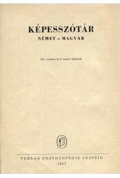 Képesszótár német-magyar - Régikönyvek