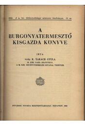 A burgonyatermesztő kisgazda könyve - Régikönyvek