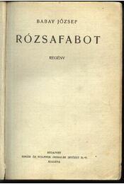 Rózsafabot - Régikönyvek