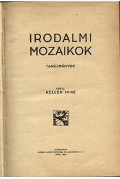 Irodalmi mozaikok - Régikönyvek