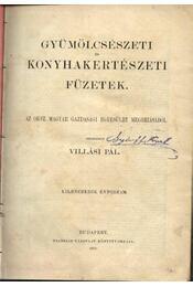 Gyümölcsészeti és konyhakertészeti füzetek 9. évfolyam - Régikönyvek