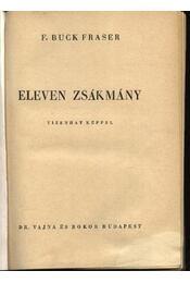 Eleven zsákmány - Régikönyvek