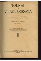 Tolnai új világlexikona III.kötet BUR-DON - Régikönyvek