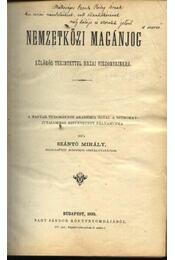 Nemzetközi magánjog - Régikönyvek