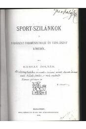 Sport-szilánkok a vadászat-természetrajz és vizslászat köréből - Régikönyvek