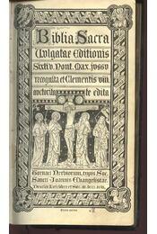 Biblia Sacra - Régikönyvek