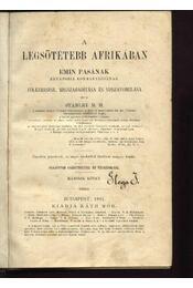 A legsötétebb Afrikában II. - Régikönyvek