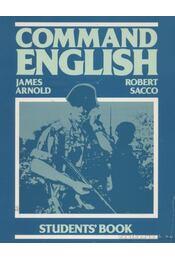 Command English - Arnold, James, Sacco, Robert - Régikönyvek