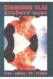 Commodore világ évkönyv '93/94 - Régikönyvek