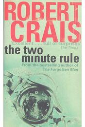 The Two Minute Rule - Crais, Robert - Régikönyvek
