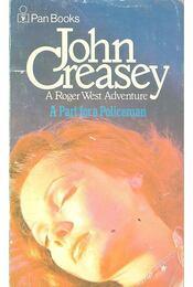 A Part for a Policeman - Creasey, John - Régikönyvek