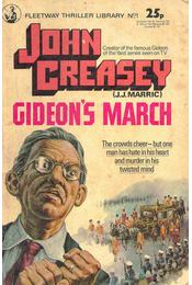 Gideon's March - Creasey, John - Régikönyvek
