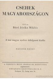 Csehek Magyarországon I-II. kötet - Régikönyvek