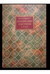 Csangpo Láma zarándokútja - Régikönyvek