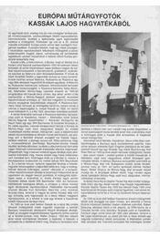 Európai műtárgyfotók Kassák Lajos hagyatékából - Csaplár Ferenc - Régikönyvek