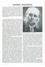 Gadányi Jenő művei - Csaplár Ferenc - Régikönyvek