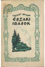 Északi írások (dedikált) - Csekey István - Régikönyvek