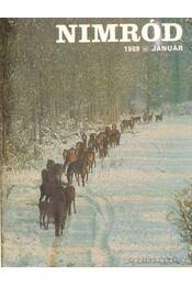 Nimród 1989. 109. évfolyam (teljes) - Csekó Sándor - Régikönyvek