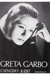 Greta Garbo - Csengery Judit - Régikönyvek