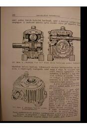 Csigahajtóművek - Régikönyvek