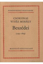Csokonai Vitéz Mihály beszédei (1795-1804) - Csokonai Vitéz Mihály - Régikönyvek