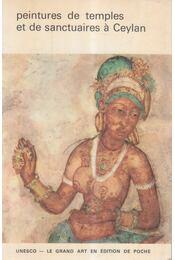 Peintures de temples et de sanctuaries á Ceylan - D.B. Dhanapala - Régikönyvek