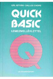 Quick basic - Régikönyvek