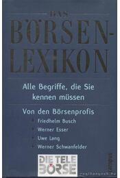 Das Börsenlexikon - Régikönyvek