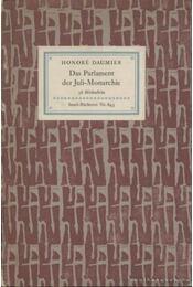 Das Parlament der Juli-Monarchie - Daumier, Honoré - Régikönyvek