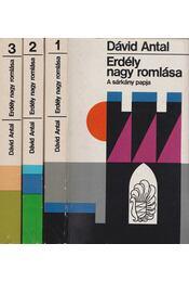 Erdély nagy romlása I-III. kötet - Dávid Antal - Régikönyvek