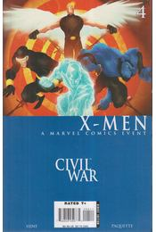 Civil War: X-Men No. 4. - David Hine, Paquette, Yanick - Régikönyvek