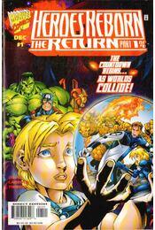 Heroes Reborn: The Return Vol. 1 No. 1 - David, Peter, Larroca, Salvador - Régikönyvek
