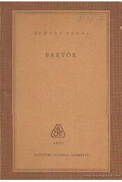 Bartók - Demény János - Régikönyvek