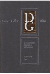 Epidauroszi tücskök, szóljatok - Devecseri Gábor - Régikönyvek