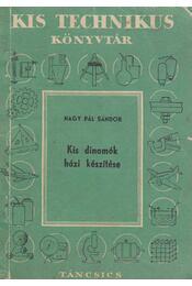 Kis dinamók házi készítése - Régikönyvek