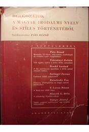 Dolgozatok a magyar irodalmi nyelv és stílus történetéből - Régikönyvek