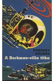 A Borkman-villa titka - Donászy Kálmán - Régikönyvek