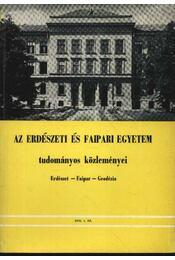 Az Erdészeti és Faipari Egyetem tudományos közleményei 1976. 1. sz. - Dr. Gencsi László - Régikönyvek