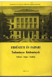 Erdészeti és Faipari Tudományos közlemények 1980. év 1. sz. - Dr. Gencsi László - Régikönyvek