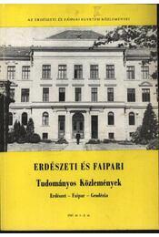 Erdészeti és Faipari Tudományos Közlemények 1987. év 1-2. sz. - Dr. Gencsi László - Régikönyvek