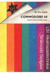 Commodore 64 - Dr. Úry László - Régikönyvek
