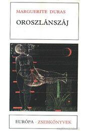 Oroszlánszáj - Duras, Marguerite - Régikönyvek