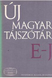 Új magyar tájszótár 2. E-J - Régikönyvek