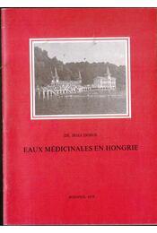 Eaux médicinales en Hongrie - Régikönyvek
