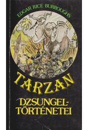 Tarzan dzsungeltörténetei - Edgar Rice Burroughs - Régikönyvek