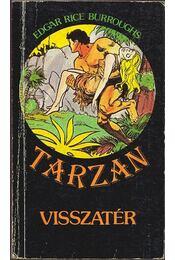 Tarzan visszatér - Edgar Rice Burroughs - Régikönyvek