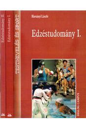 Edzéstudomány I-II. - Harsányi László - Régikönyvek