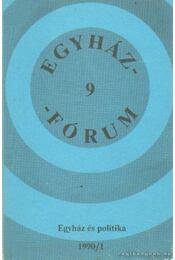 Egyházfórum 1990/1 - Régikönyvek