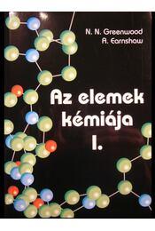 Az elemek kémiája I-III. - Régikönyvek